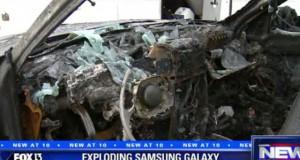 Baterai Samsung Galaxy Note 7 yang Meledak Sebabkan Satu Jip Keluarga Terbakar di Florida, Amerika Serikat (foto: FOX13)