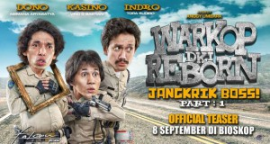 Warkop DKI Reborn Jangkrik Boss! Part 1