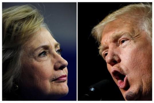 Hllary Clinton & Donald Trump