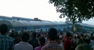 Kecelakaan Kereta di India, Korban 146 Orang (foto: Berita Satu)