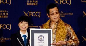 Piko-Taro mendapatkan rekor dunia berkat lagu dan videoklip PPAP (foto: REUTERS)