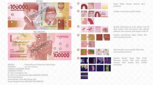Uang Baru 2016 Rp100.000,00