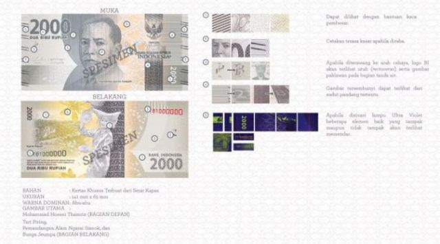 Uang Baru 2016 Rp2.000,00