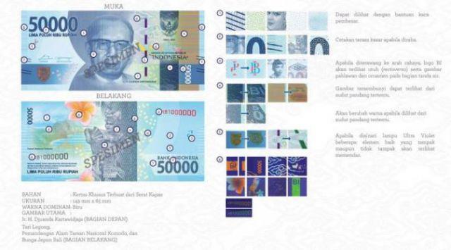 Uang Baru 2016 Rp50.000,00