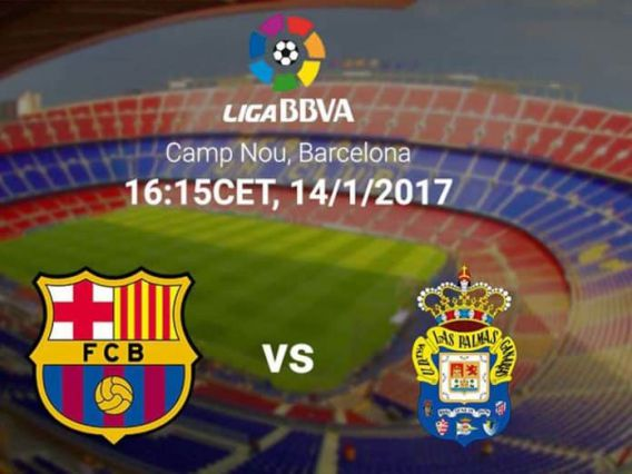 Streaming Bola Barca Vs Las Palmas