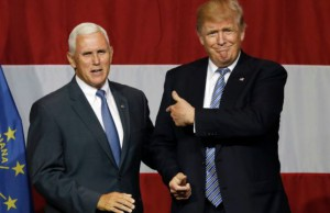 Mike Pence dan Donald Trump (foto: CNN)