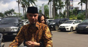 Ahmad Dhani dan Mulan Jameela (foto: Detikcom)