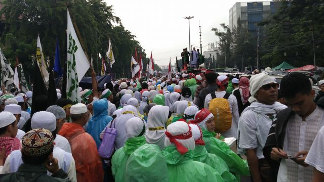 Aksi 112 (foto: Republika.com)