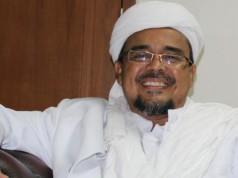 Pemimpin FPI Rizieq Shihab (foto: VOA Islam)