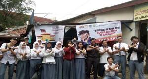 Kampanye Tolak Jadi Target Rokok di Tangerang Selatan (foto: tangeranghits.com)