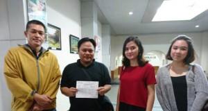 Foto para pendonor darah untuk Jupe (foto Instagram @juliaperrezz)