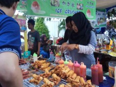 Suasana Food and Fashion Festival Pontianak 2017 (foto: Tribunnews)