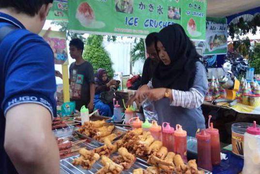 Suasana Food and Fashion Festival Pontianak 2017 (foto: Tribunnews)