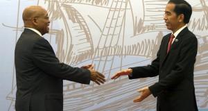 Jokowi dan Jacob Zuma (foto: Berita Satu)
