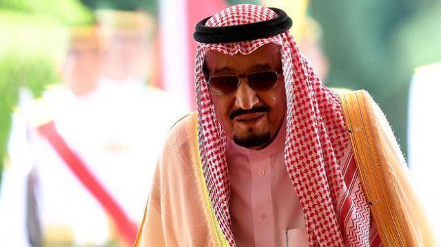 Raja Salman bin Abdulaziz al-Saud. (AFP PHOTO/Manan Vatsyayana)