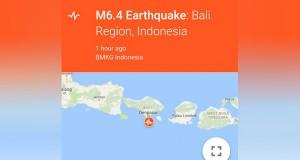 Gempa di Bali dan NTB