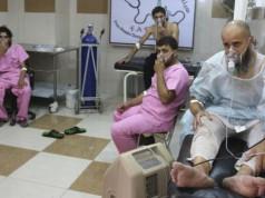 Gas beracun menyerang Suriah (foto: AFP)