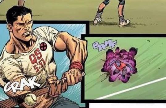 Ilustrasi Ardian Syah di komik X-Men terbaru