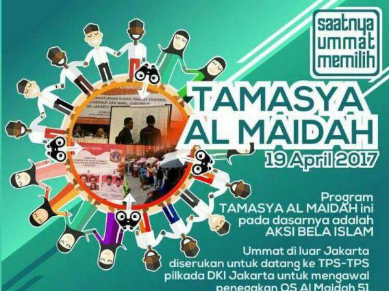 Poster Tamasya Al-Maidah