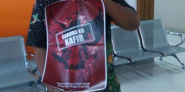 Poster Garuda Ku Kafir (foto: Merdeka)