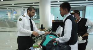 Ilustrasi pemeriksaan bandara