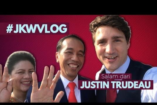 Jokowi dan Justin Trudeau
