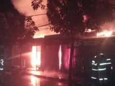 Kebakaran di Cibaduyut (foto: Detikcom)