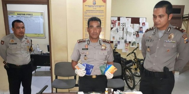Polisi tangkap terduga teroris di Rokan Hilir