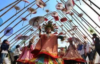 Festival Sepayung Indonesia (foto: Antara)