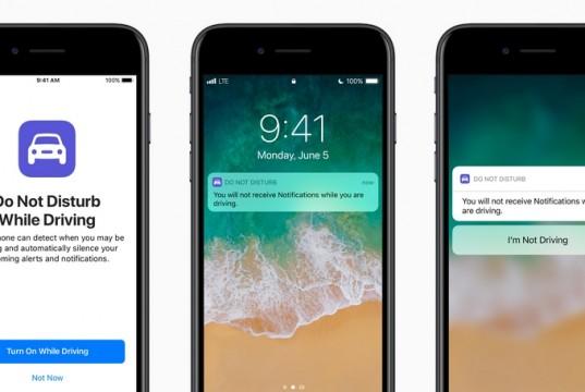 Tampilan iOS 11
