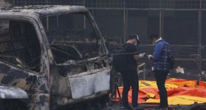 Ledakan di Pabrik Petasan Kosambi Hanguskan Puluhan Kendaraan (foto: Antarafoto)