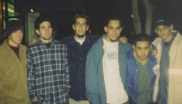 Mike Shinoda Kenang Linkin Park dengan Unggah Foto Masa Muda Mereka