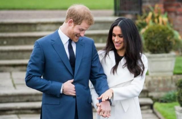 Pangeran Harry dan Meghan Markle (foto: Vanity Fair)