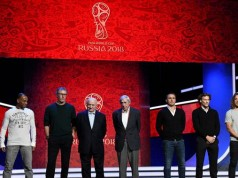 Pengundian Piala Dunia 2018 (foto: AFP)