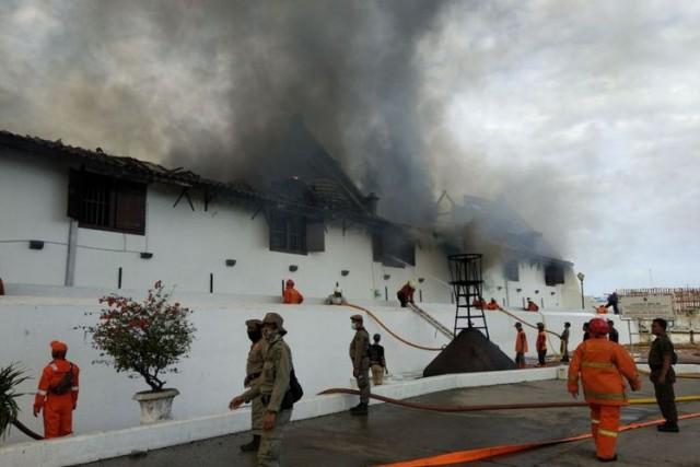 Museum Bahari Kebakaran (foto: Kompas)