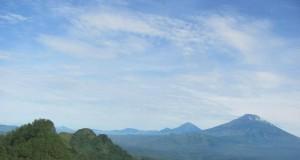 Ilustrasi pegunungan