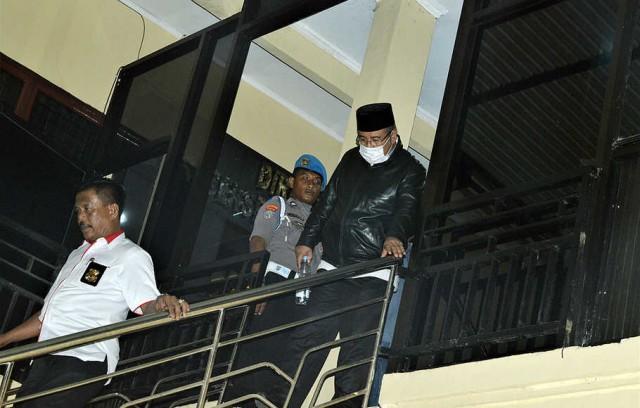 Cagub Sultra Ditangkap KPK (foto: Antara)