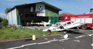 Kecelakaan Pesawat Tempur (foto: Berita Satu)