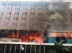 Novita Hotel Kebakaran