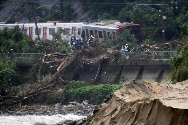 Banjir Bandang di Jepang (foto: Kompas)