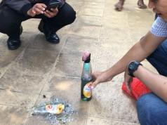 Bom Molotov Dilempar ke Rumah Politisi PKS (foto: Kompas)