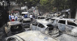 Kebakaran Hutan di Yunani Tewaskan 80 Orang