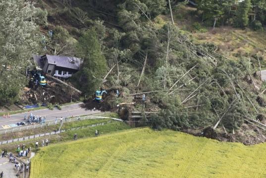 Dampak Gempa Jepang (foto: CNN)
