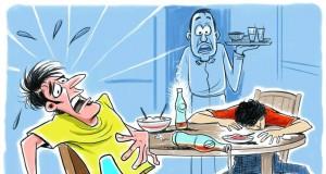 Ilustrasi Keracunan Makanan