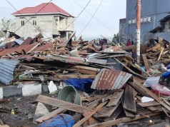 Dampak Gempa di Sulawesi Tengah (foto: Tribunnews)