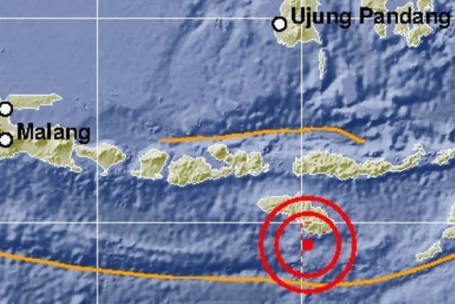 Gempa Sumba Timur