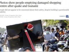Penjarahan pascagempa dan tsunami Palu