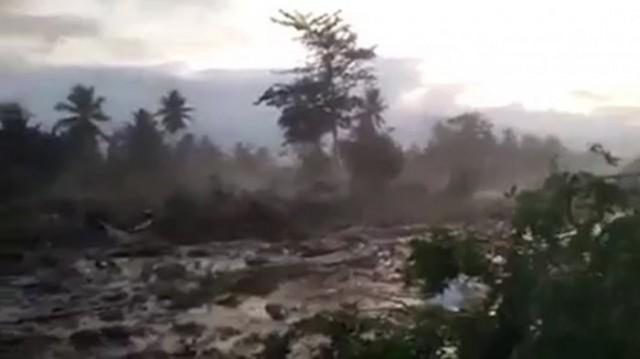 Tanah Amblas Usai Gempa Donggala-Palu