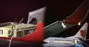 Lion Air Tabrak Tiang