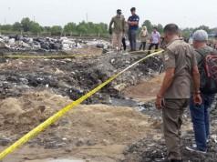 TKP lahan kosong di Bekasi (foto: Kompas)